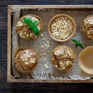 Healthy Zucchini Spice Muffins.