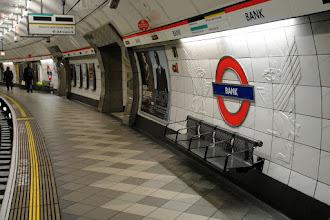 "Photo: Underground station ""Bank""."