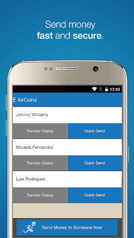 android AirCoinz Screenshot 0