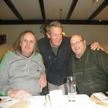 Photo: Die drei Veteranen: Walter Egger, Peter Pössl und Mark Chloupek