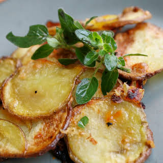 Oven Roasted Potato Chips.
