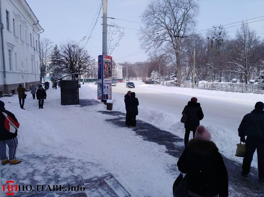 Полтаву вхурделило: ранок у місті після сильної негоди (ФОТО, ВІДЕО), фото-22