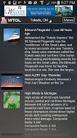 Screenshot of WTOL First Alert Weather