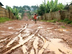 Photo: Chencha - deep mud