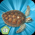 Ocean Turtle Simulator 3D Icon