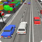 Blocky Cars Rush Drive icon