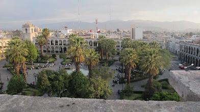Photo: Plaza de Armas desde el techo de la Catedral