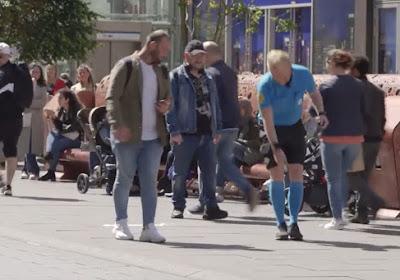 """🎥 Geniaal: Nederlands Rode Kruis schakelt hulp in van topref midden in de stad: """"Anderhalve meter"""""""