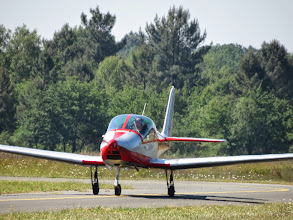 Photo: Bernard suit avec son Skyleader 150