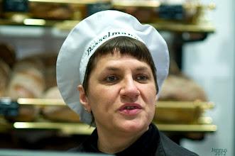 Photo: die freundliche Bäckerin