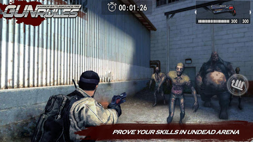 Gun Rules : Warrior Battlegrounds Fire screenshot 1