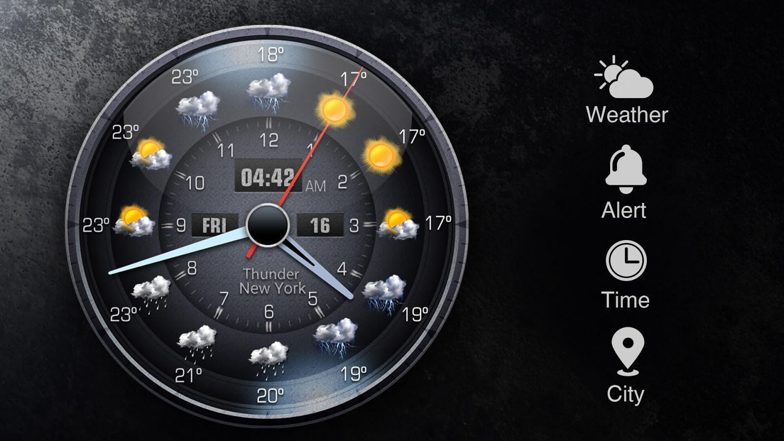 Live weather report&humidity- screenshot