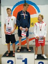 Photo: Letnie Mistrzostwa Polski w pływaniu - Tomasz Bocheń (IIIc) brązowy medal na 100m motylkiem (lipiec 2014)