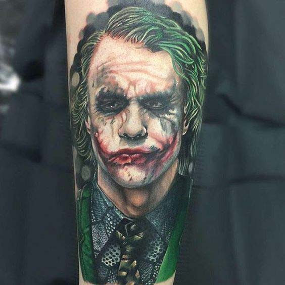 e97dcdf3b 50 Crazy Joker Tattoos Designs and Ideas For Men And Women