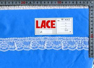 Photo: (廃盤)№51442ラッセルフリル:巾37mm