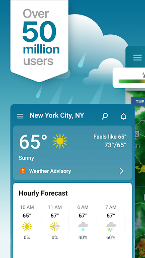 Weather Alerts & Storm Radar - The Weather Channel screenshot 1