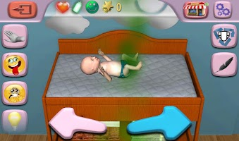Screenshot of Alima's Baby (Virtual Pet)