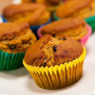 Pumpkin and Spice Muffins.