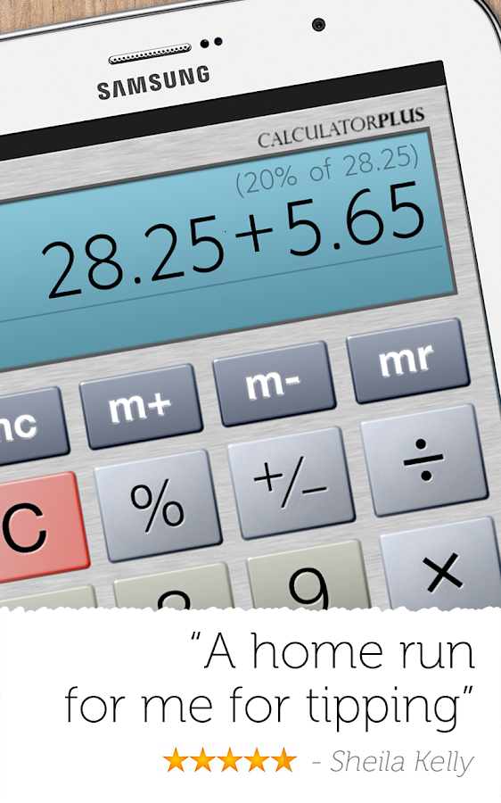 Calculator Plus- screenshot