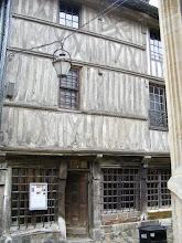 Photo: Some of the old half-timbered buildings seem to have not seen much exterior work in some time.