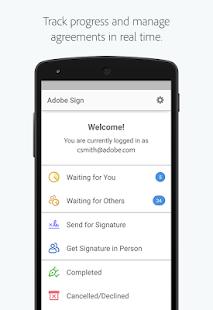 Adobe signature app