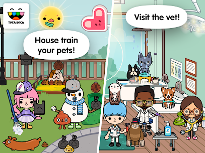 Toca Life: Pets MOD (Unlocked) 4