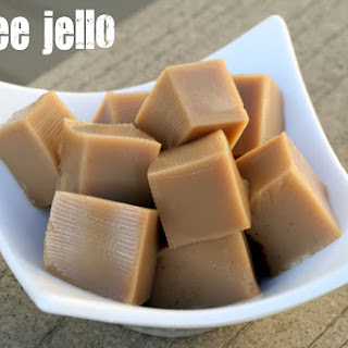 Coffee Jello / Coffee Gelatin Recipe