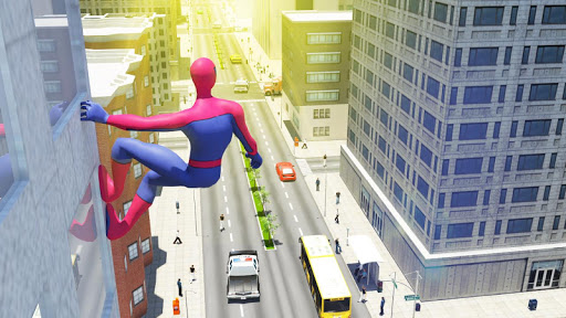 Télécharger Super Spider hero 2018: Amazing Superhero Games APK MOD (Astuce) screenshots 4