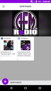 GFM RADIO- screenshot thumbnail