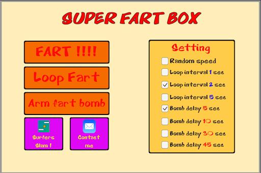 Super Fart Box