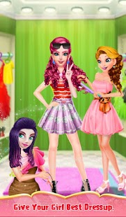 Valentine Doll Hair Do Design Screenshot