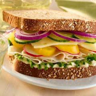 Garden Chicken Deli Sandwich Recipe