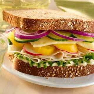 Garden Chicken Deli Sandwich.