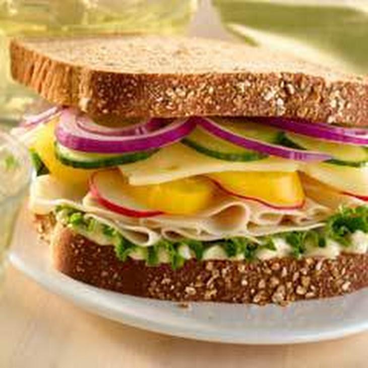 Garden Chicken Deli Sandwich Recipe
