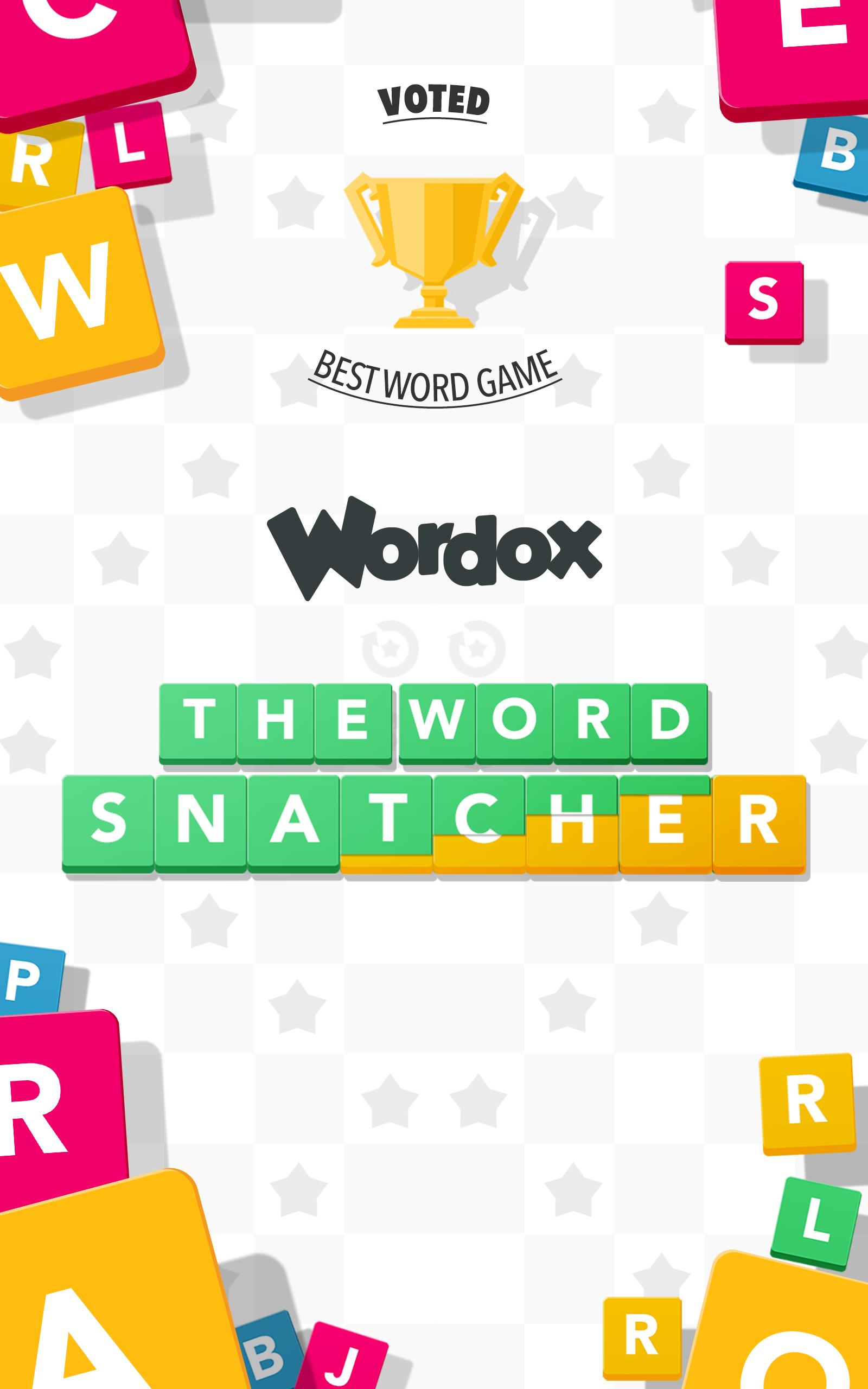 Wordox The Word Snatcher screenshot #1