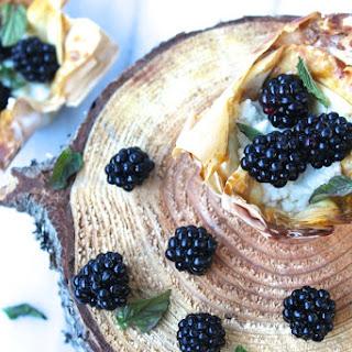 Blackberry Goat Cheese Tarts Recipe