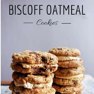 Biscoff Oatmeal Cookie Sandwiches