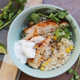Easy Tex-Mex Chicken Bowls | Get the Kids Cooking With You.