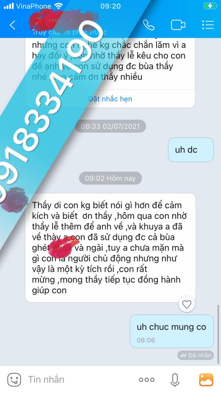 Nhắn tin cho người khác giới