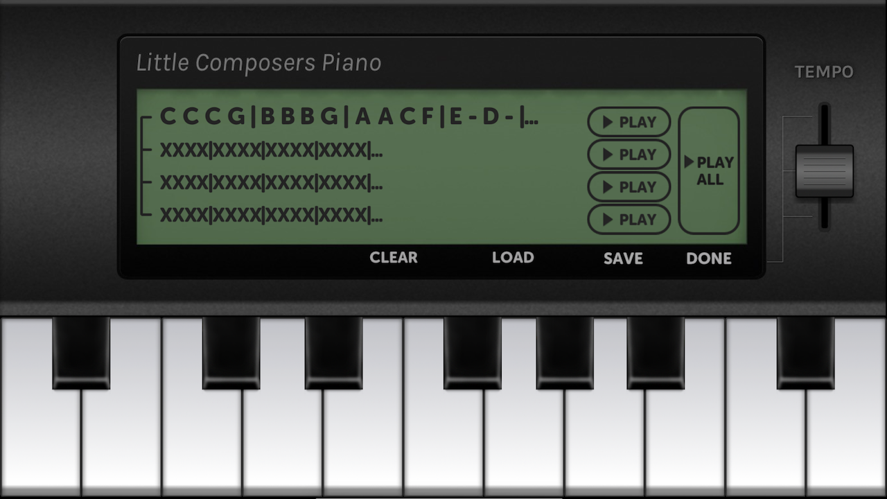 Little Composers Piano- screenshot