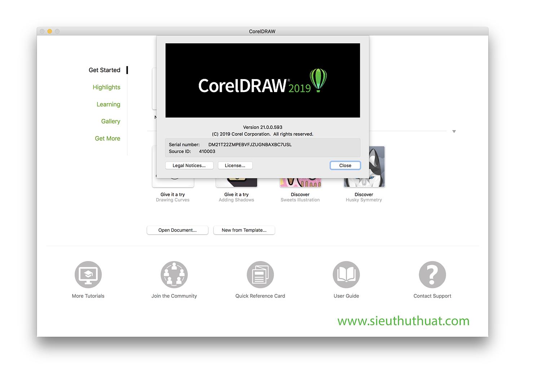 Hướng dẫn kích hoạt CorelDRAW Graphics Suite 2019