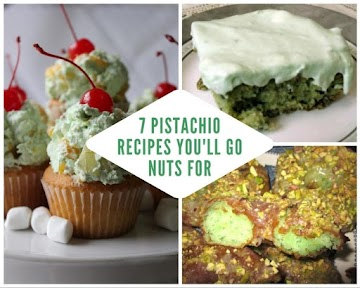 7 Pistachio Recipes You'll Go Nuts For
