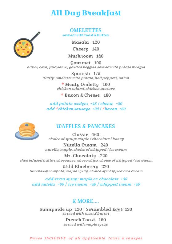 Tea Brew menu 2