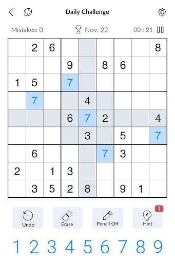 Sudoku - Free Classic Sudoku Puzzles 2.8.0 screenshots 11