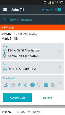 DriverAnywhere - screenshot