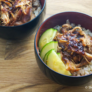Slow Cooker Sweet and Spicy Chicken.