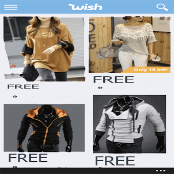 free wish products guide