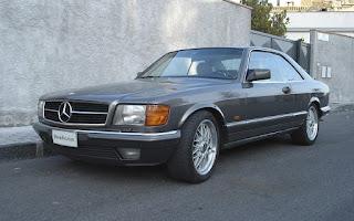 Mercedes 500 Sec Rent Sicilia