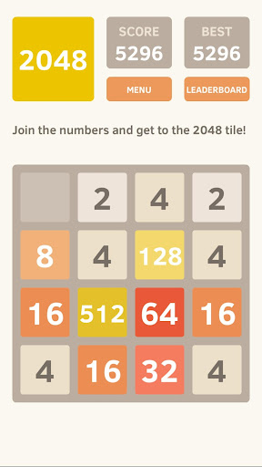 2048 android2mod screenshots 1