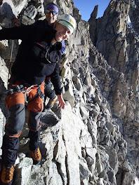 Terug klimmen